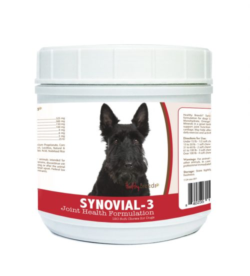Healthy Breeds 840235115373 Scottish Terrier Synovial-3 Joint Health Formulation 120 Count