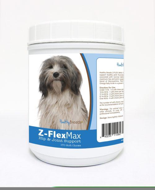Healthy Breeds 840235115823 Tibetan Terrier Z-Flex Max Hip & Joint Soft Chews 170 Count