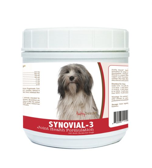 Healthy Breeds 840235115830 Tibetan Terrier Synovial-3 Joint Health Formulation 120 Count
