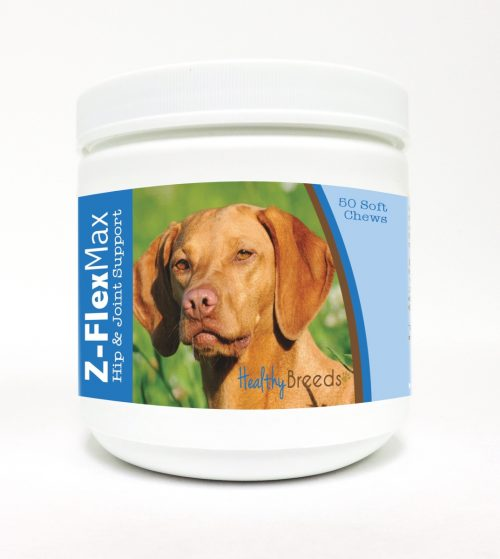 Healthy Breeds 840235115977 Vizsla Z-Flex Max Hip & Joint Soft Chews 50 Count
