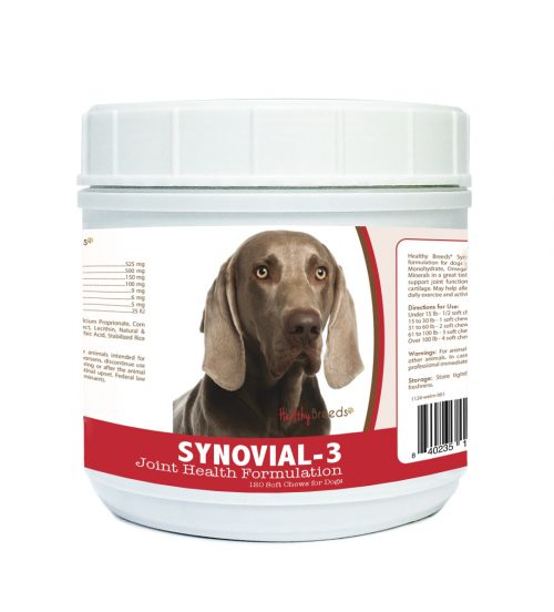 Healthy Breeds 840235116165 Weimaraner Synovial-3 Joint Health Formulation 120 Count