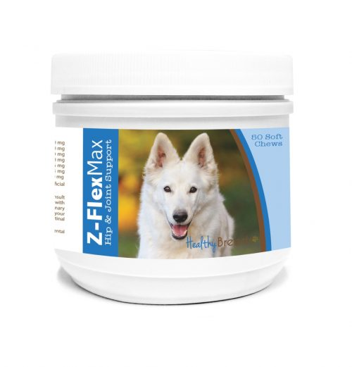 Healthy Breeds 840235117445 German Shepherd Z-Flex Max Hip & Joint Soft Chews 50 Count