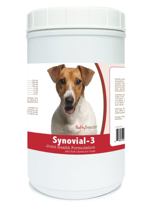 Healthy Breeds 840235117650 Jack Russell Terrier Synovial-3 Joint Health Formulation 240 Count