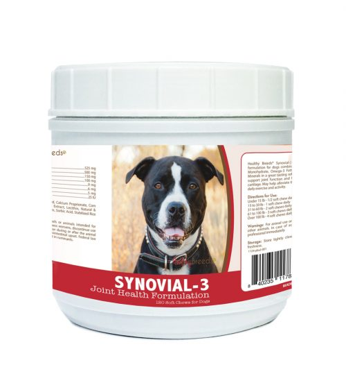 Healthy Breeds 840235117834 Pit Bull Synovial-3 Joint Health Formulation 120 Count