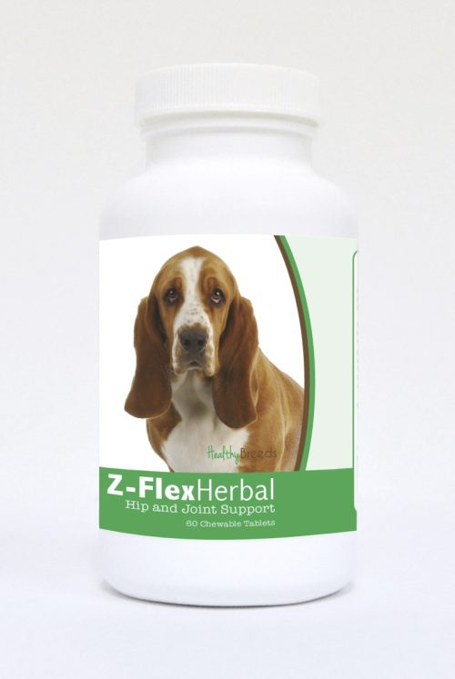 Healthy Breeds 840235118596 Basset Hound Natural Joint Support Chewable Tablets - 60 Count