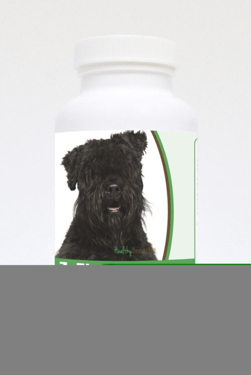 Healthy Breeds 840235118695 Bouvier des Flandres Natural Joint Support Chewable Tablets - 60 Count