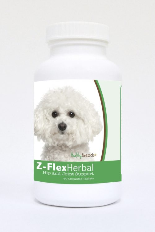 Healthy Breeds 840235119104 Bichon Frise Natural Joint Support Chewable Tablets - 60 Count