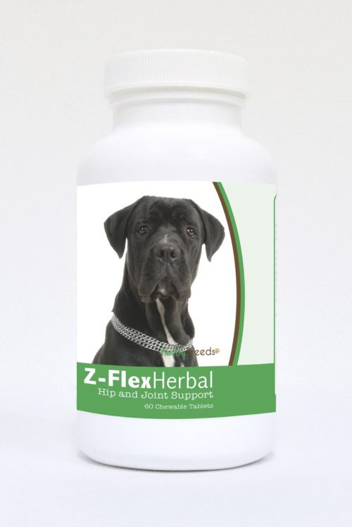 Healthy Breeds 840235119630 Cane Corso Natural Joint Support Chewable Tablets - 60 Count