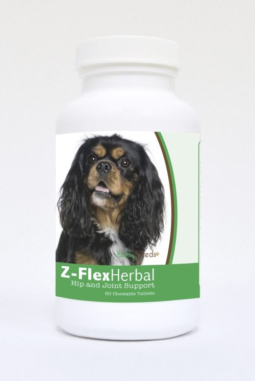 Healthy Breeds 840235119692 Cavalier King Charles Spaniel Natural Joint Support Chewable Tablets - 60 Count