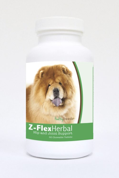 Healthy Breeds 840235119821 Chow Chow Natural Joint Support Chewable Tablets - 60 Count