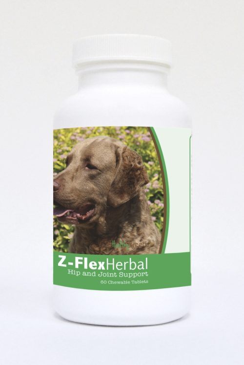 Healthy Breeds 840235119920 Chesapeake Bay Retriever Natural Joint Support Chewable Tablets - 60 Count