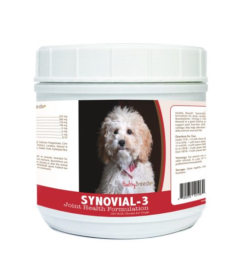 Healthy Breeds 840235121060 Cockapoo Synovial-3 Joint Health Formulation - 120 Count