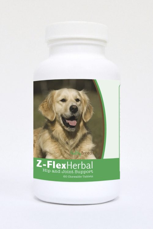 Healthy Breeds 840235121503 Golden Retriever Natural Joint Support Chewable Tablets - 60 Count