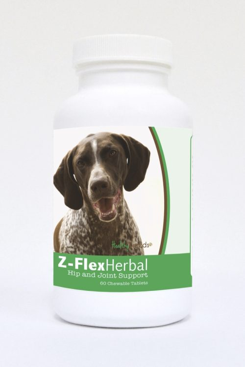 Healthy Breeds 840235121787 German Shorthaired Pointer Natural Joint Support Chewable Tablets - 60 Count