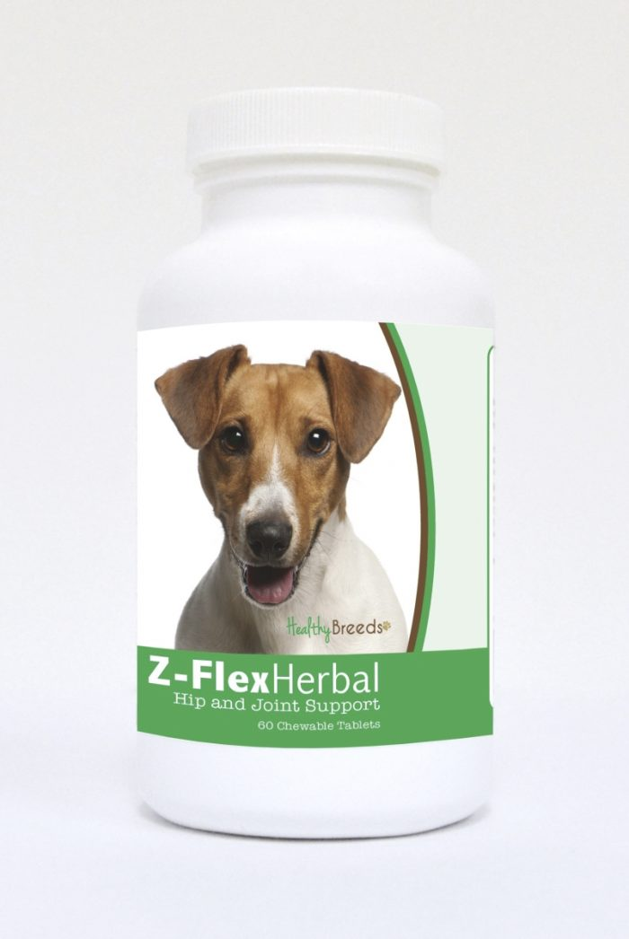 Healthy Breeds 840235122487 Jack Russell Terrier Natural Joint Support Chewable Tablets - 60 Count