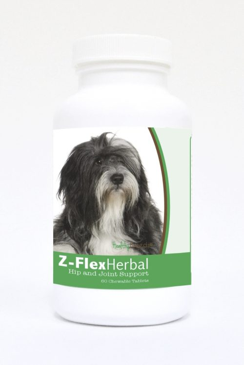 Healthy Breeds 840235123019 Lhasa Apso Natural Joint Support Chewable Tablets 60 Count