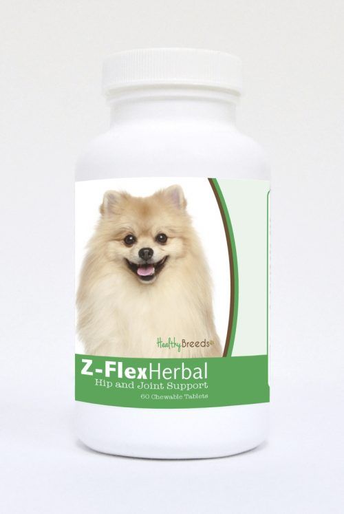 Healthy Breeds 840235123903 Pomeranian Natural Joint Support Chewable Tablets - 60 Count