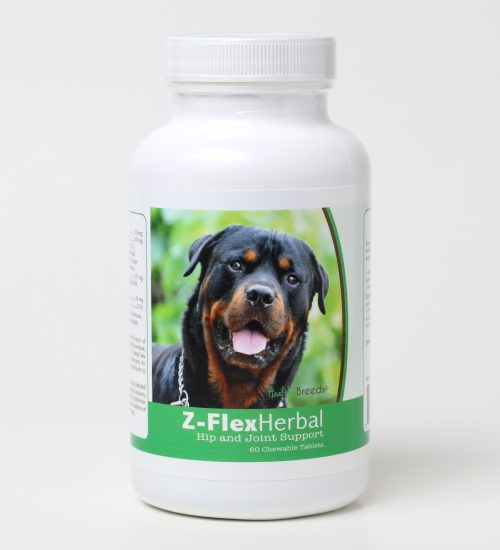Healthy Breeds 840235124511 Rottweiler Natural Joint Support Chewable Tablets - 60 Count