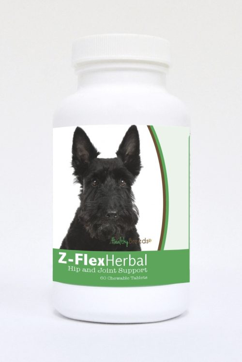 Healthy Breeds 840235125501 Scottish Terrier Natural Joint Support Chewable Tablets - 60 Count