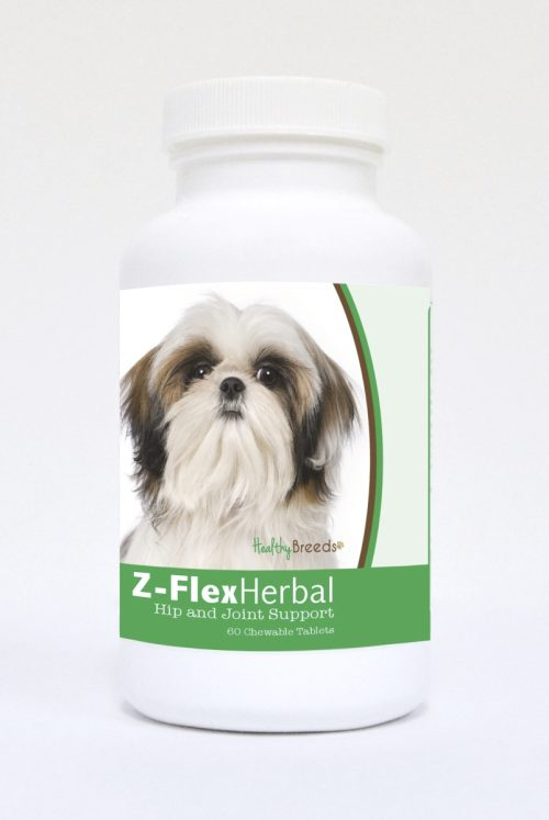 Healthy Breeds 840235125549 Shih Tzu Natural Joint Support Chewable Tablets - 60 Count
