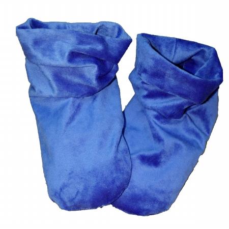 Herbal Concepts HCBOOTSB Herbal Comfort Booties - Slate Blue