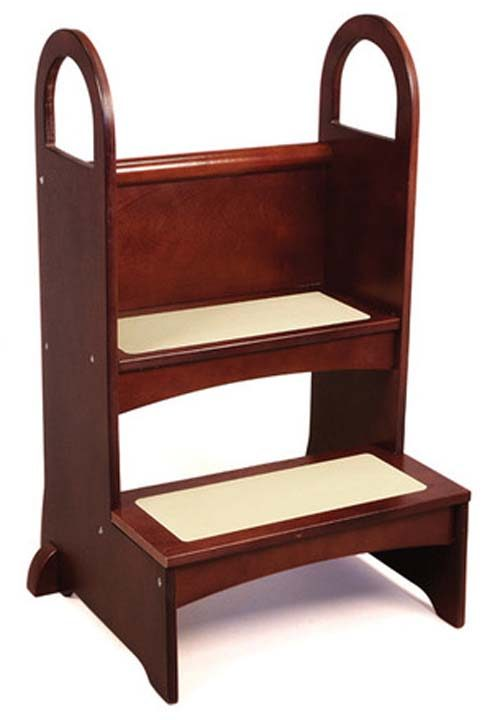 High Rise Step Up / Stool (Espresso)