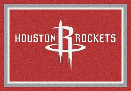 "Houston Rockets 3' 10"" x 5' 4"" Team Spirit Area Rug"