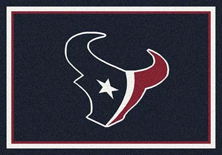 "Houston Texans 3' 10"" x 5' 4"" Team Spirit Area Rug (Navy Blue)"