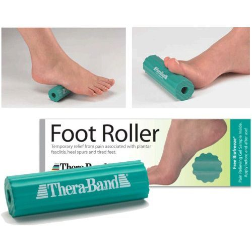 Hygenic Theraband HYC 26150 0.5 in. dia. Foot Roller with 0.5 in. Center Green