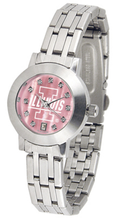 Illinois Fighting Illini Dynasty Ladies Watch with Mother of Pearl Dial