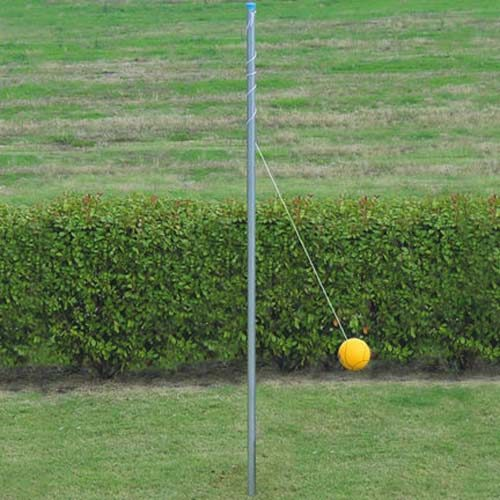 In-Ground Outdoor Tetherball Pole & Ball (Sleeve sold separately)