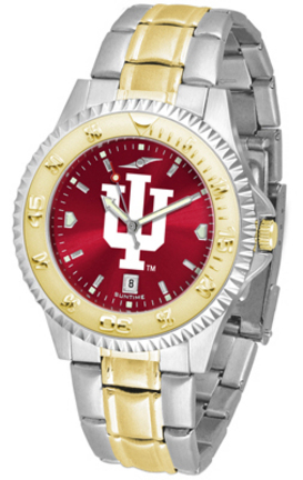 Indiana Hoosiers Competitor AnoChrome Two Tone Watch