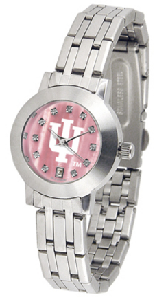 Indiana Hoosiers Dynasty Ladies Watch with Mother of Pearl Dial