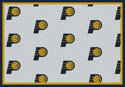 "Indiana Pacers 2' 1"" x 7' 8"" Team Repeat Area Rug Runner"