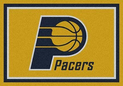 "Indiana Pacers 3' 10"" x 5' 4"" Team Spirit Area Rug"