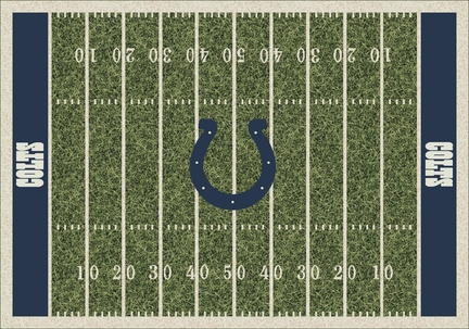 "Indianapolis Colts 3' 10"" x 5' 4"" Home Field Area Rug"