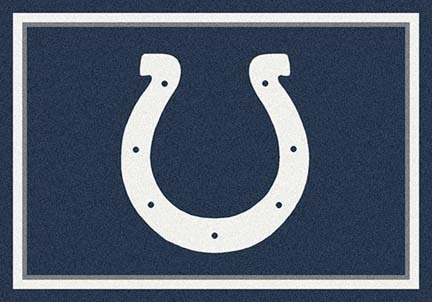 "Indianapolis Colts 3' 10"" x 5' 4"" Team Spirit Area Rug (Blue)"