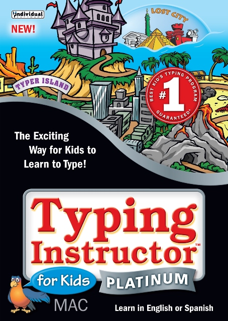 Individual Software EK5-MK5 Typing Instructor for Kids Platinum 5 - Mac - 5 Keys