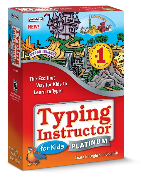 Individual Software EK5-TK5 Typing Instructor for Kids Platinum 5 - Windows - 5 Keys