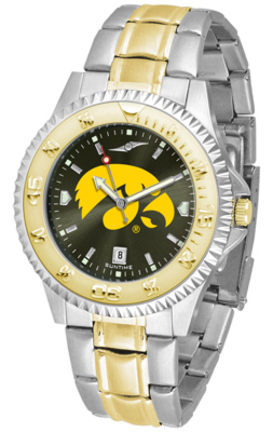 Iowa Hawkeyes Competitor AnoChrome Two Tone Watch