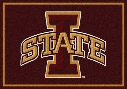 "Iowa State Cyclones 3'10""x 5'4"" Team Spirit Area Rug"