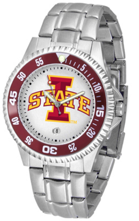 Iowa State Cyclones Competitor Watch with a Metal Band