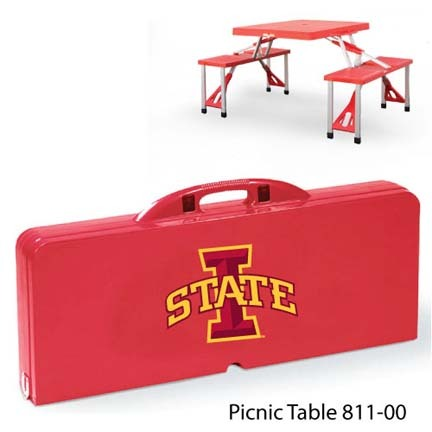 Iowa State Cyclones Portable Folding Table and Seats