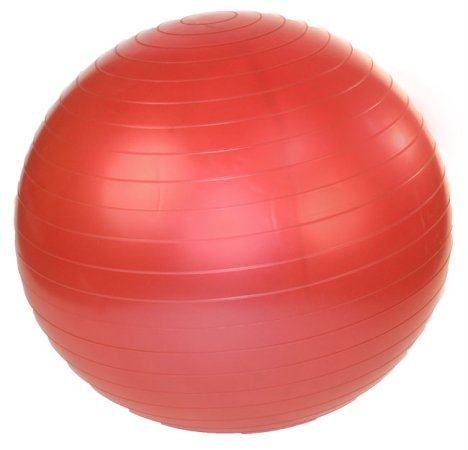 J Fit 20-0120 Stability Exercise Ball 45cm - Red