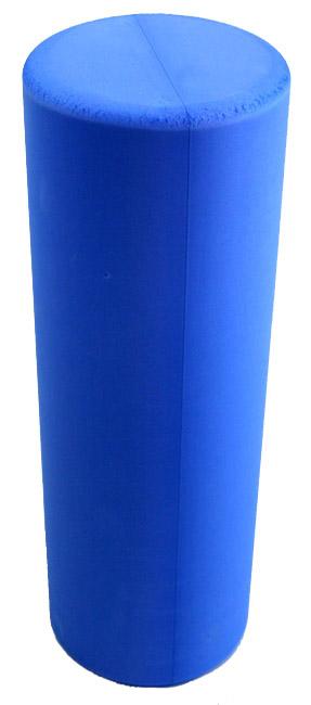 J Fit 20-0618 Hi-Density Round Foam Roller 18 Inch - Blue