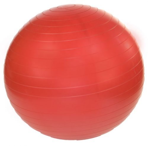 J Fit 20-1801 Professional Exercise Ball 45cm - Ruby Red