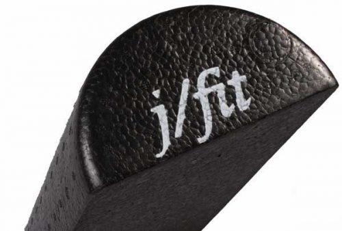 J Fit 20-2639 36 Inch Half-Round Foam Roller - Black