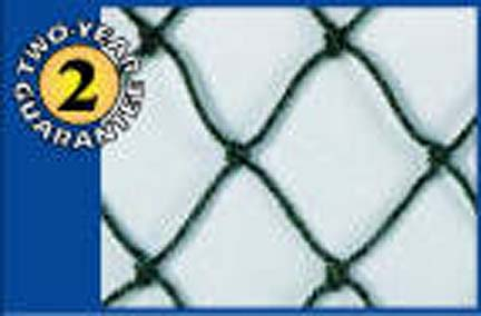JUGS S4010 Replacement Netting (for Quick-Snap 6' Square Protective Softball Screen with Pitching Hole)