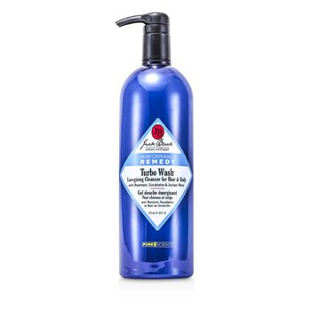 Jack Black 141705 Turbo Wash Energizing Cleanser For Hair & Body