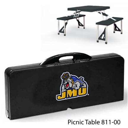 James Madison Dukes Portable Folding Table and Seats